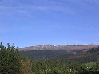 Durangaldea - Oiz mountain.