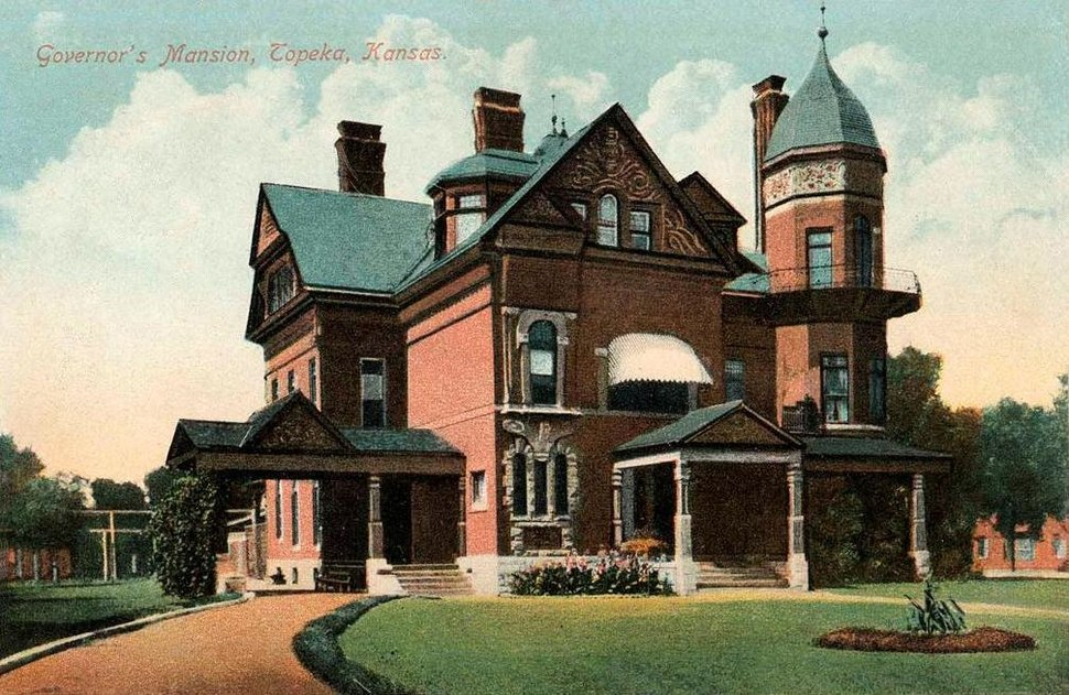 Old Governor's Mansion, Topeka, KS