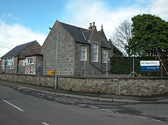 Old Rayne - Old Rayne Primary School in 2005