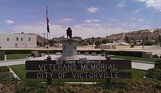 Victorville, California - Old Town Victorville Veteran's Memorial