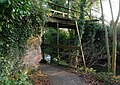 Old footbridge, disused Lagan Navigation (2) - geograph.org.uk - 637555.jpg