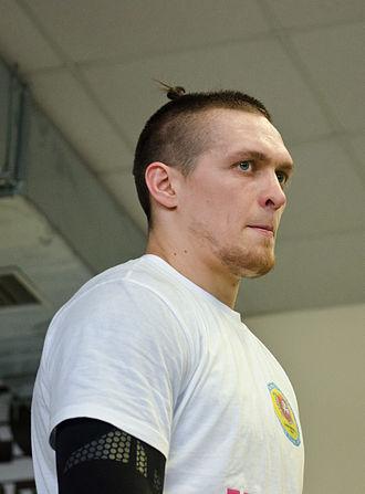 Oleksandr Usyk - Usyk in 2015