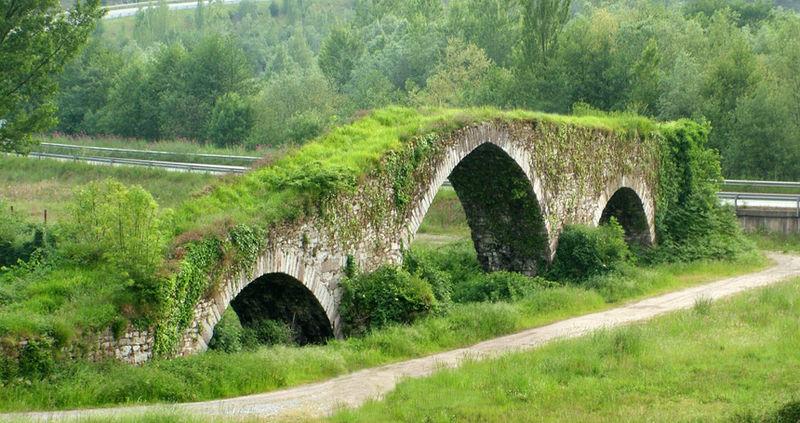 Puente medieval de Olloniego (Oviedo)