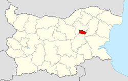 Omurtag Municipality within Bulgaria and Targovishte Province.