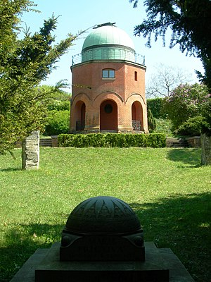 Astronomical Institute of Czech Academy of Sciences - Historical dome of the Ondřejov observatory
