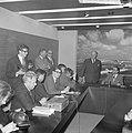 Opdracht Uitgeverij Bruna te Utrecht, Georges Simenon bij aankomst Schiphol, Bestanddeelnr 917-7522.jpg