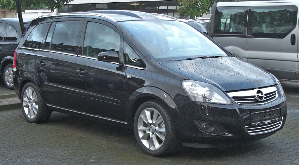 file opel zafira b facelift front wikimedia commons. Black Bedroom Furniture Sets. Home Design Ideas