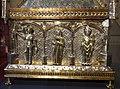 Orafo aostano, cassa-reliquiario della mandibola di san grato, 1450 circa (aosta, collegiata dei ss. pietro e orso) 02.JPG