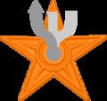Orange barnstar.png