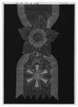 Ordenstecken, 1 klass (kommendör med stora korset) av koreanska orden De åtta elementen - Livrustkammaren - 69993-negative.tif
