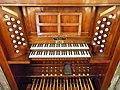 Organo di S.Daniele (Padova) Consolle a finestra 02.jpg