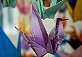 Origami for the 2011 Tōhoku earthquake and tsunami victims; April 2011.jpg