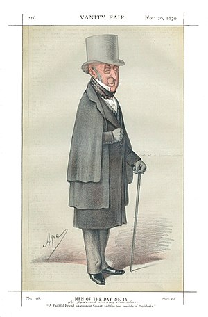 Roderick Murchison - Vanity Fair print of Sir Roderick Murchison
