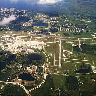 Orlando Sanford International Airport Public airport in Sanford, Florida, United States