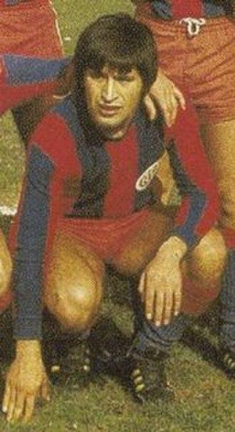 Oscar Alberto Ortiz - Ortiz at San Lorenzo de Almagro