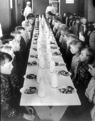 Oslo breakfast - Children at a school in Oslo
