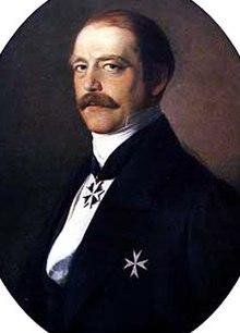 Portrait de Bismarck ministre-président