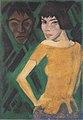 Otto Mueller - Marischka mit Maske - 1919.jpeg