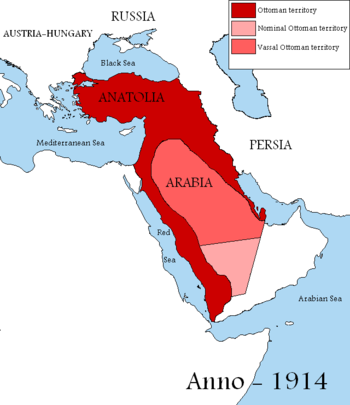 English: Map showing the territories of the Ot...