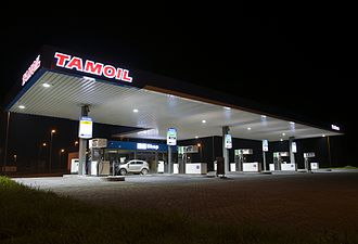 Tamoil - Service station in the Netherlands