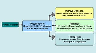 Oncogenomics sub-field of genomics
