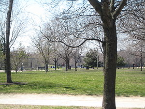 Oz Park in early Spring.