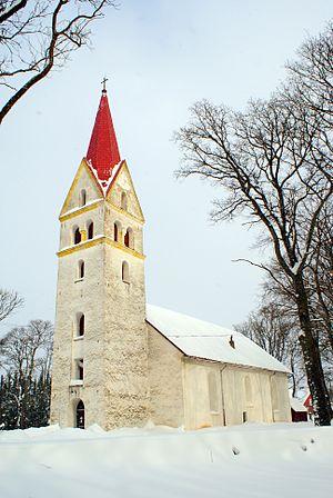 Pärnu County - Image: Pärnu Jaagupi kirik