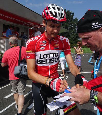 Péronnes-lez-Antoing (Antoing) - Tour de Wallonie, étape 2, 27 juillet 2014, départ (C062).JPG