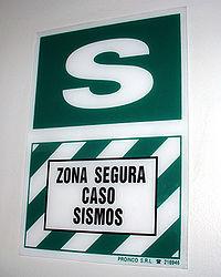 Pérou Décembre 2006 - Zona Segura Caso Sismos.jpg