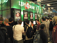 Left 4 Dead podczas Penny Arcade Expo (2008)