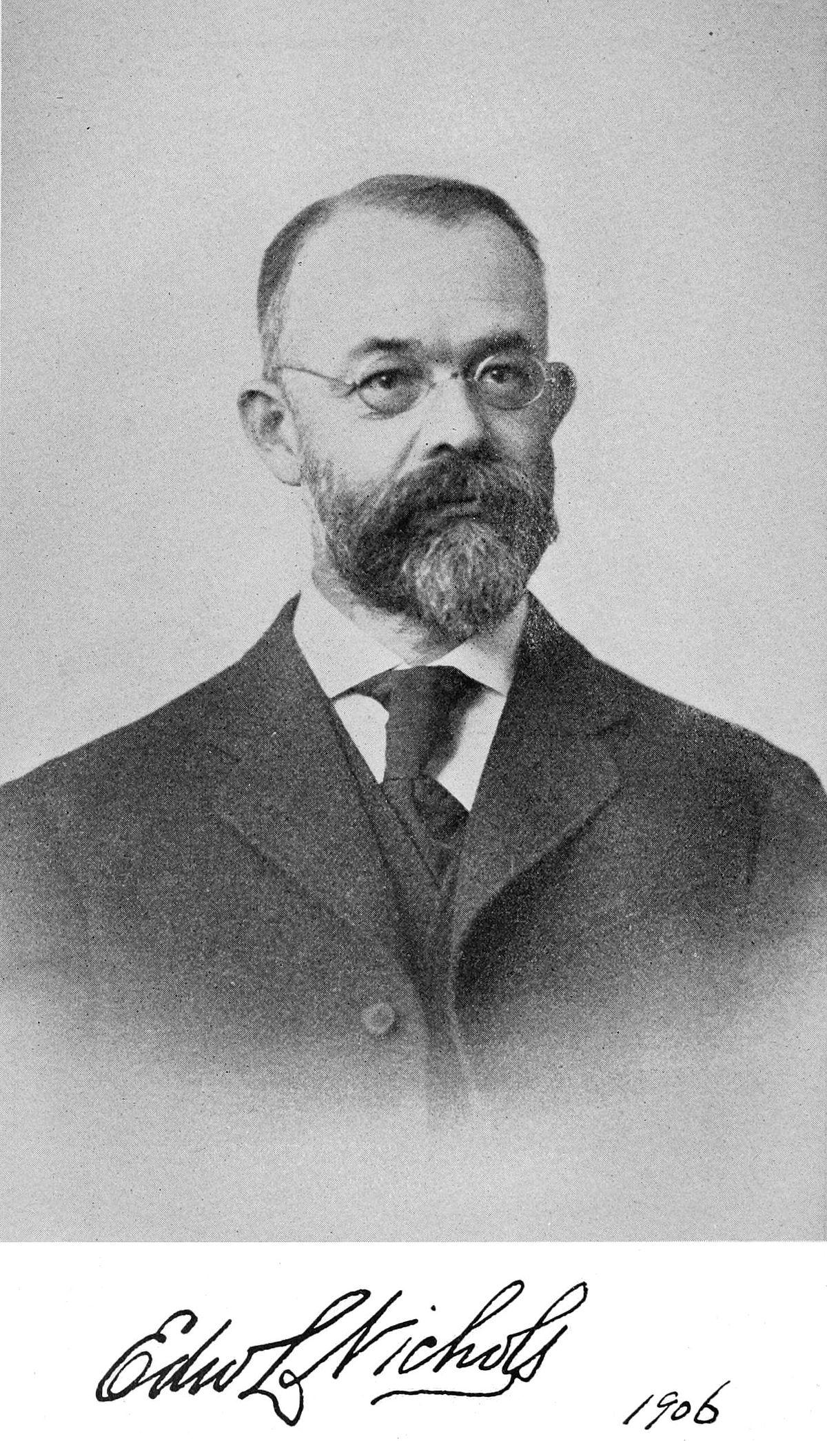 Edward Leamington Nichols – Wikipédia a enciclopédia livre