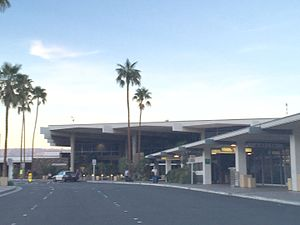 Palm Springs International Airport - Sonny Bono Concourse at the airport.
