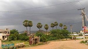 Vaddeswaram - Vaddeswaram village entrance