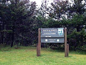 Pacific Pines State Park sign.jpeg