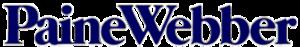 Paine Webber - Paine Webber Logo