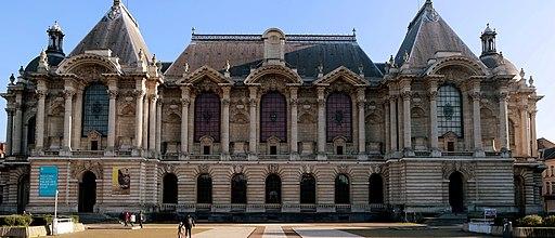 Palais Des Beaux Arts De Lille Vue Exterieure Façade