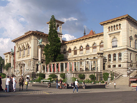 In addition to the Cantonal and University Library of Lausanne, the Palais de Rumine hosts several museums.