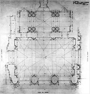 Palazzo del Capitaniato - Palazzo del Capitaniato, floor plan (Pereswet-Soltan, 1969).