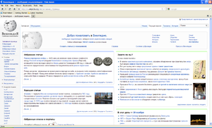 Pale Moon (web browser) - Pale Moon 8 running on Windows XP