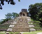 Palenque - Las Cruces - Templo del Cruz.JPG