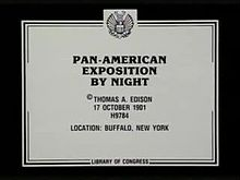 Archivo:Pan-American Exposition by Night (1901).webm