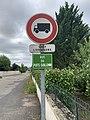 Panneau B8 Plaque rue Puits Guillemin Replonges 1.jpg