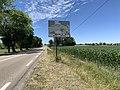 Panneau H33 Pont Veyle Route Mâcon St Cyr Menthon 1.jpg