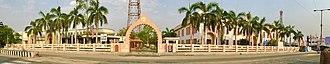 Guntur district - Image: Panorama of Amaravathi Cultural Heritage Museum