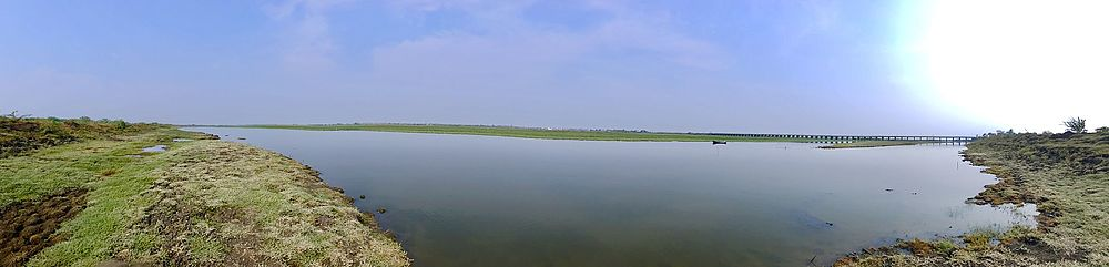 Panorama of Kolleru Lake 1.jpg