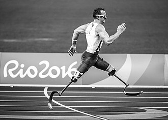 Ableism - A runner in the Rio 2016 Paralympic Games