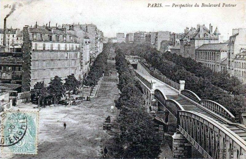 Fichier:Paris - Perspective du Boulevard Pasteur.jpg