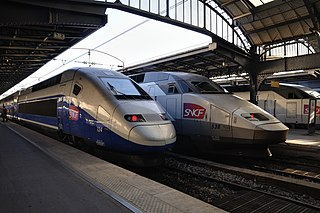 High-speed rail in France