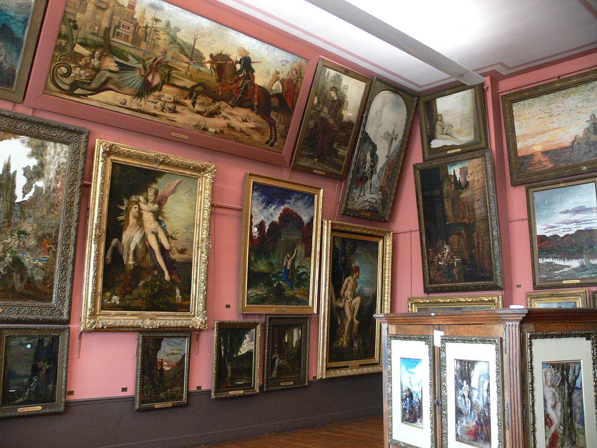 Mus e national gustave moreau wikipedia - Musee art decoratif paris horaires ...