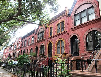 Park Place Historic District (Brooklyn) - The Park Place Historic District in 2013